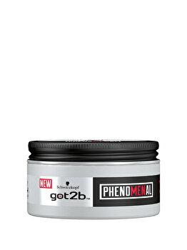 Pasta modelatoare pentru par got2b phenoMENal,cu nivel 4 de fixare, 100 ml