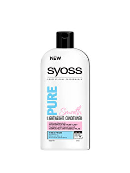 Balsam pemtru par normal Syoss Pure Smooth, 500 ml de la Syoss