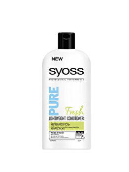 Balsam pentru par normal si subtire Syoss Pure Fresh, 500 ml de la Syoss