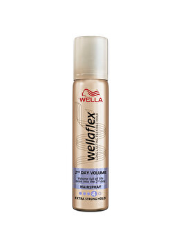 Fixativ Wellaflex 2Day Volume Extra Strong, 75 ml de la Wellaflex