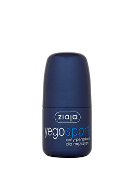 Antiperspitant sport pentru barbati roll-on, Yego, 60 ml