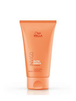 Crema de par cu efect anti-static Wella Professionals Invigo Nutri-Enrich Frizz Control pentru par uscat, 150 ml de la Wella Professionals