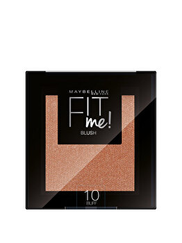 Maybelline New York Fit Me Blush Fard de obraz – 4.5g, 10 Buff de la Maybelline