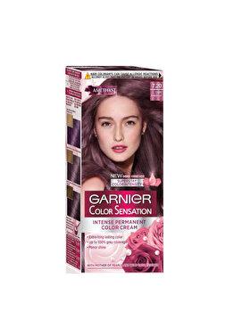 Vopsea de par permanenta cu amoniac Garnier Color Sensation cu pigmenti intensi 7.20 Ametist Deschis de la Garnier