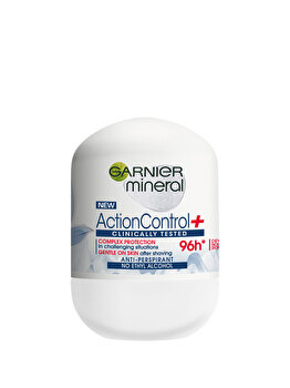 Deodorant antiperspirant roll-on Garnier Action Control Control Clinically, pentru femei, 50 ml de la Garnier