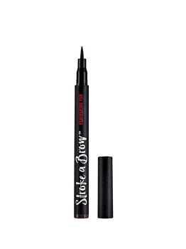 Creion sprancene, Ardell Beauty Stroke a Brow Feathering Pen, Maro inchis, 1.2g de la Ardell
