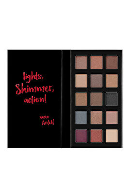 Fard de pleoape Ardell Beauty Pro Eyeshadow Palette 15 culori Shimmer de la Ardell