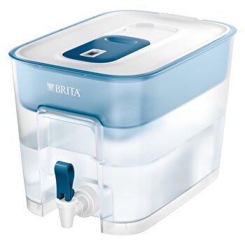 Recipient filtrant Flow Brita, 8,2 l, plastic, BR1027667, Albastru de la Brita