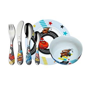 Set servire masa copii Cars WMF, 6 piese, 1286019964, Multicolor de la WMF