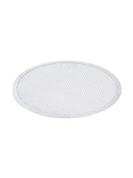 Tava sita/retina pizza, Hendi, 300 mm, 617533, aluminiu, Alb