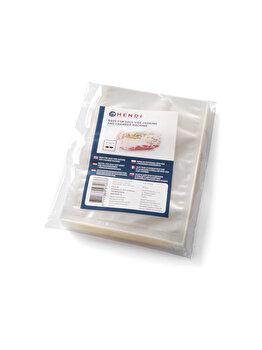 Pungi vidat pentru gatit, Hendi, 2 straturi, filtru UV, 100 buc, 150 x 200 mm, 970676, Incolor de la Hendi