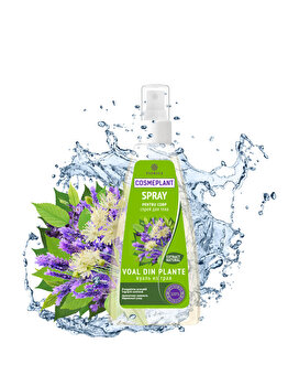 Spray corporal Voal din plante Cosmeplant 200 ml de la Viorica
