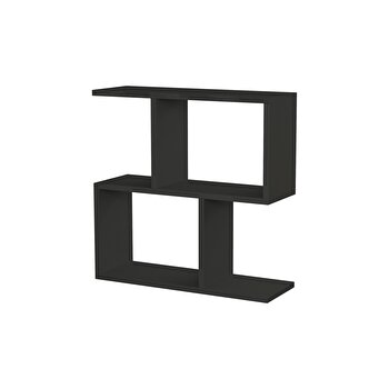 Masuta, Decortie, 60 x 60 x 20 cm, pal melaminat, 855DTE2873, Negru de la Decortie