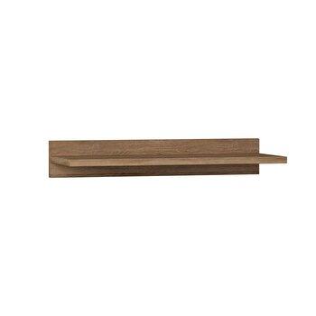 Raft de perete, Decortie, 60 x 10 x 24 cm, pal melaminat, 855DTE1707, Maro de la Decortie