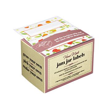 Set 100 etichete adezive KitchenCraft, KCHMJAMLAB de la Kitchen Craft