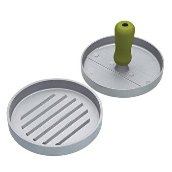 Presa burgeri KitchenCraft, 11 cm, metal, KCHMBPRESS, Gri de la Kitchen Craft