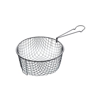 Cos Prajire Kitchen Craft, 18,5 cm, KCBASKET8, Argintiu de la Kitchen Craft