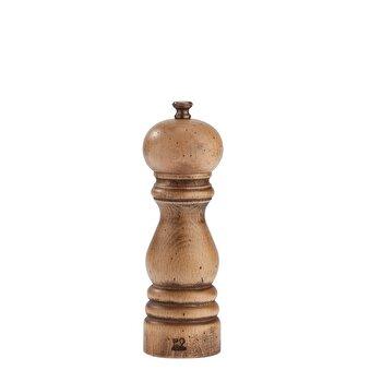 Rasnita pentru sare Paris Classic Aged Wood Peugeot, 18 cm, lemn, 30964, Maro de la Peugeot