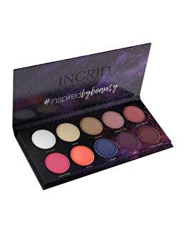 Paleta pentru fard de pleoape Colors de la INGRID Cosmetics