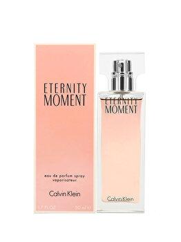 Apa de parfum Calvin Klein Eternity Moment, 50 ml, pentru femei de la Calvin Klein