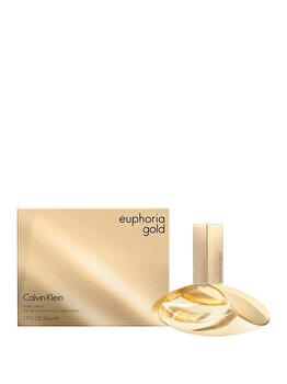 Apa de parfum Calvin Klein Euphoria Gold, 50 ml, pentru femei de la Calvin Klein