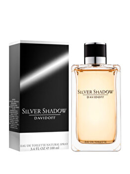 Apa de toaleta Davidoff Silver Shadow, 100 ml, pentru barbati de la Davidoff