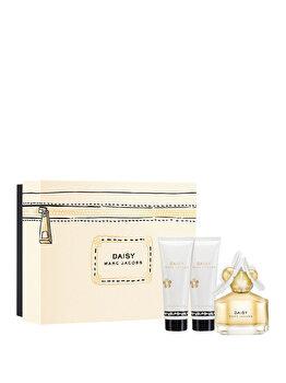 Set cadou Marc Jacobs Daisy (Apa de toaleta 50 ml + Lotiune de corp 75 ml + Gel de dus 75 ml), pentru femei de la MARC JACOBS