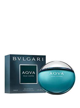 Apa de toaleta Bvlgari Aqva Pour Homme, 50 ml, pentru barbati de la Bvlgari