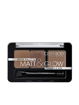 PALETA 3IN1 PENTRU STILIZAREA SPRANCENELOR, 010 Now flASH Lights, 2.6 g de la Catrice