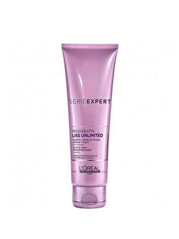 Crema leave-in profesionala pentru netezire L'Oréal Professionnel Serie Expert Liss Unlimited, 150ml de la L'Oréal Professionnel