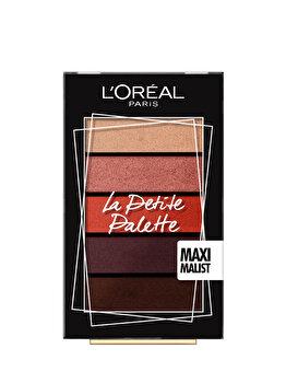Paleta farduri pleoape L Oreal Paris La Petite Palette Maximalist, 4 g de la L Oreal Paris