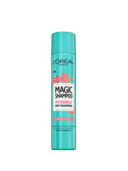 Sampon uscat purificator L Oreal Paris Magic Shampoo Rose Tonic, 200 ml