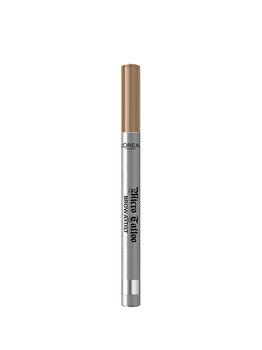 Creion de sprancene cu varf tip carioca L'Oreal Paris Brow Artist Micro Tattoo, 101 Blond, 5 g de la L Oreal Paris