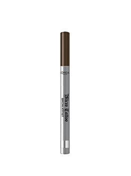 Creion de sprancene cu varf tip carioca L'Oreal Paris Brow Artist Micro Tattoo, 108 Warm Brunette, 5 g de la L Oreal Paris