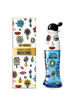 Apa de toaleta Moschino Cheap and Chic So Real, 100 ml, pentru femei de la Moschino