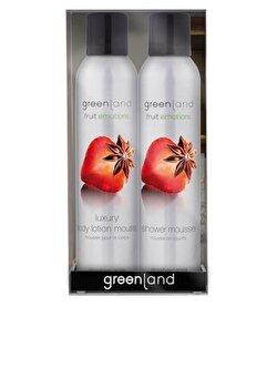 Set cadou Fruit Emotions cu capsuni si anason, Greenland de la Greenland