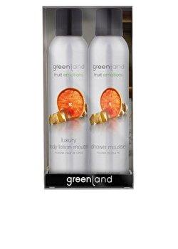Set cadou Fruit Emotions cu ghimbir si grepfruit, Greenland de la Greenland
