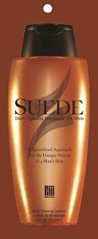 Accelerator bronzant, pentru barbati, Suede cu SPF0, 15 ml de la Fiji Blend