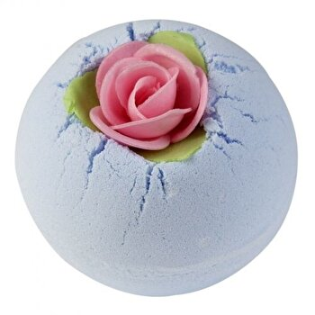 Bila efervescenta baie Porcelain Peony, 160 g de la Bomb Cosmetics