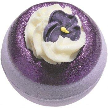 Bila efervescenta baie V for Violet, 160 g