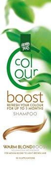 Sampon colorant, Colour Boost, Warm Blond, 200 ml de la Hennaplus