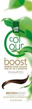 Sampon colorant, Colour Boost, Brown, 200 ml de la Hennaplus