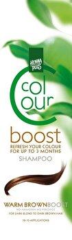 Sampon colorant, Colour Boost, Warm Brown, 200 ml de la Hennaplus