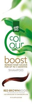 Sampon colorant, Colour Boost, Red Brown, 200 ml de la Hennaplus