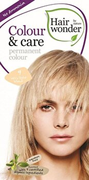 Vopsea par naturala, Colour & Care, Very Light Blond 9, 100 ml de la Hairwonder