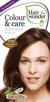 Vopsea par naturala, Colour & Care, Chocolate Brown 5.35, 100 ml de la Hairwonder