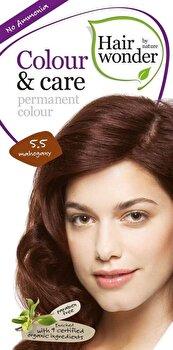 Vopsea par naturala, Colour & Care, Mahogany 5.5, 100 ml de la Hairwonder