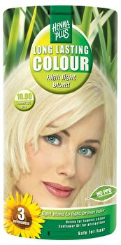 Vopsea par, Long Lasting Colour, High Light Blond 10.00, 100 ml de la Hennaplus