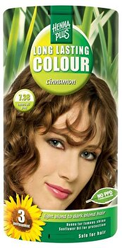Vopsea par, Long Lasting Colour, Cinnamon 7.38, 100 ml de la Hennaplus