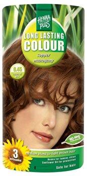 Vopsea par, Long Lasting Colour, Copper Mahogany 6.45, 100 ml de la Hennaplus